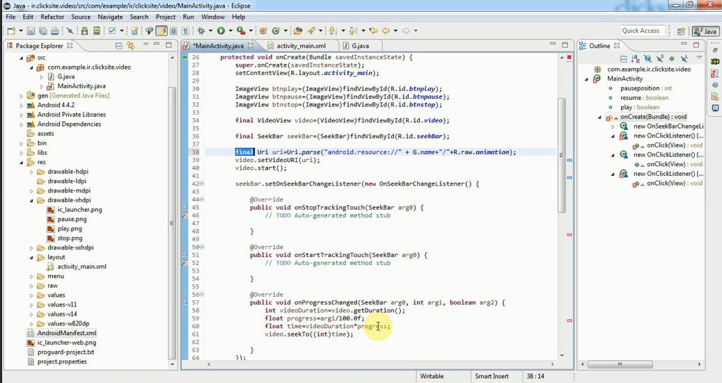 آموزش صفر تا صد برنامه نویسی اندروید(اکلیپس واندروید استدیو)آموزش برنامه نویسی آندروید و آموزش php هر دو از کاربردی ترین موارد در دوران  فعلی برنامه نویسی محسوب می گردد.